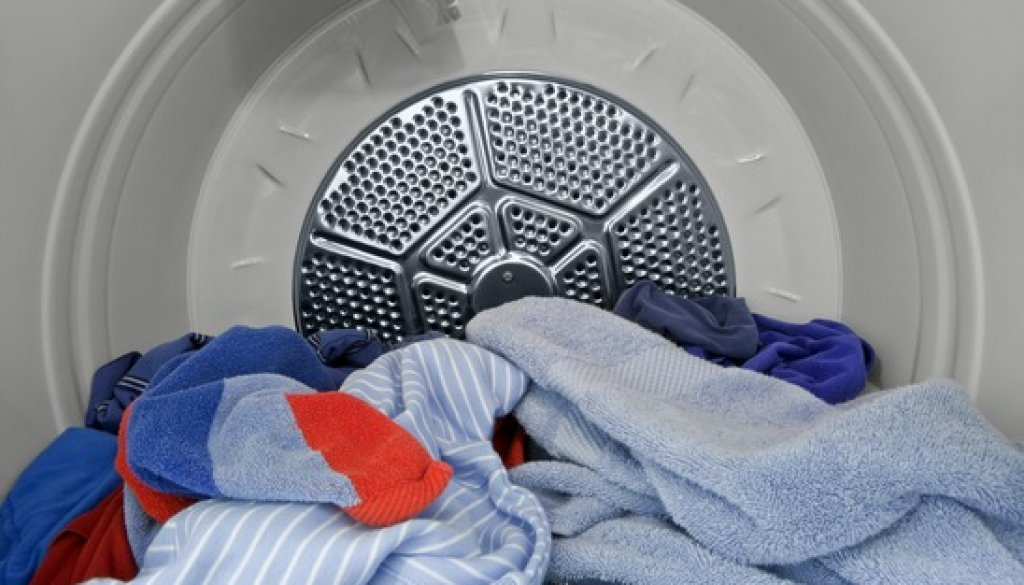 In the Dryer.